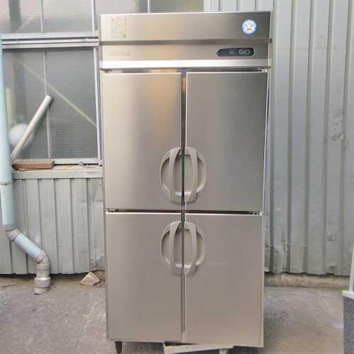 【中古】縦型冷蔵庫 福島工業(フクシマ) ARN-090RM 幅900×奥行650×高さ1950 【送料別途見積】【業務用】【厨房機器】
