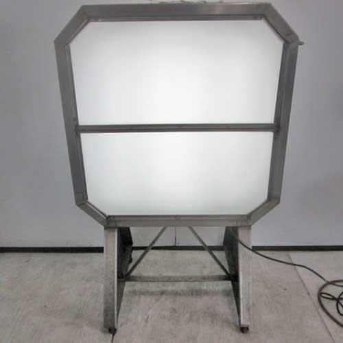 【中古】電光看板 幅700×奥行200×高さ1050 【送料別途見積】【業務用】