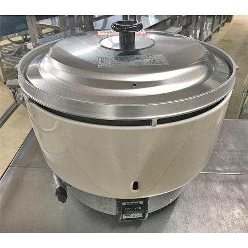 【中古】ガス炊飯器 5升 リンナイ RR-50SI-F 幅525×奥行481×高さ434 都市ガス 【送料無料】【未使用品】【業務用】【厨房機器】