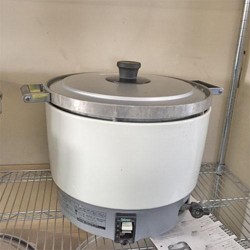 【中古】ガス炊飯器 パロマ PR-6DSS-1 幅520×奥行410×高さ355 都市ガス 【送料別途見積】【業務用】