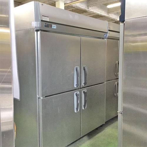 【中古】縦型冷蔵庫 パナソニック(Panasonic) SRR-K1581S 幅1460×奥行800×高さ1930 【送料無料】【業務用】