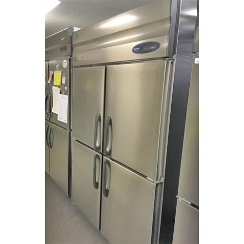 【中古】縦型冷凍庫 ホシザキ Hf-120Z3 幅1200×奥行800×高さ1900 三相200V 【送料無料】【業務用】