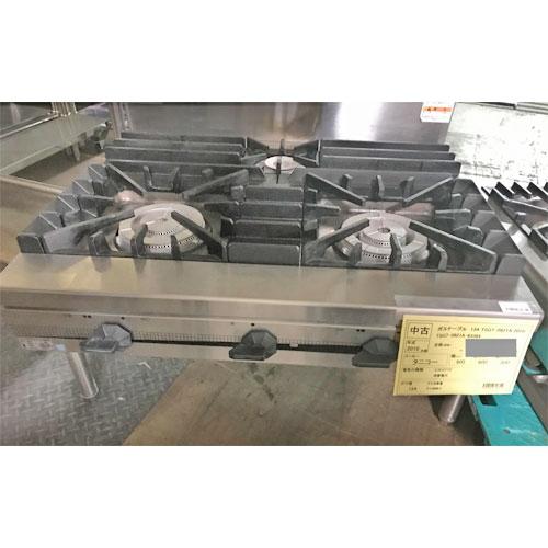 【中古】ガステーブル タニコー TSGT-0921A 幅900×奥行600×高さ800 都市ガス 【送料別途見積】【業務用】