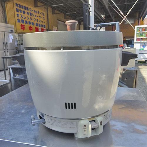【中古】ガス炊飯器 リンナイ RR-20SF2 幅431×奥行335×高さ348 LPG(プロパンガス) 【送料別途見積】【業務用】【厨房機器】