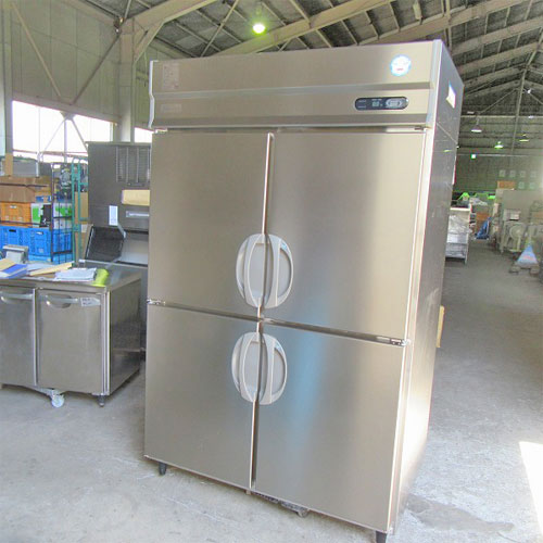 【中古】縦型冷凍冷蔵庫 福島工業(フクシマ) ARD-122PM 幅1200×奥行800×高さ1950 【送料別途見積】【業務用】【厨房機器】