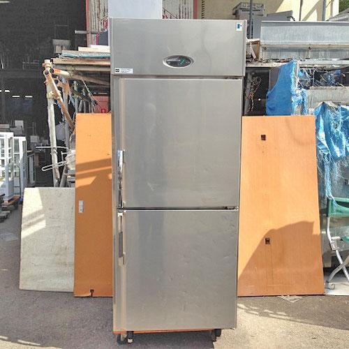 【中古】2ドア縦型冷蔵庫 フジマック FR7680J 幅760×奥行800×高さ1950 【送料別途見積】【業務用】