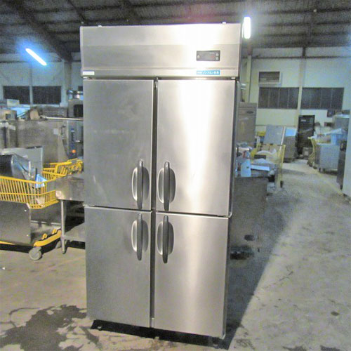 【中古】縦型冷凍庫 大和冷機 373SS 幅900×奥行800×高さ1905 三相200V 【送料別途見積】【業務用】【厨房機器】
