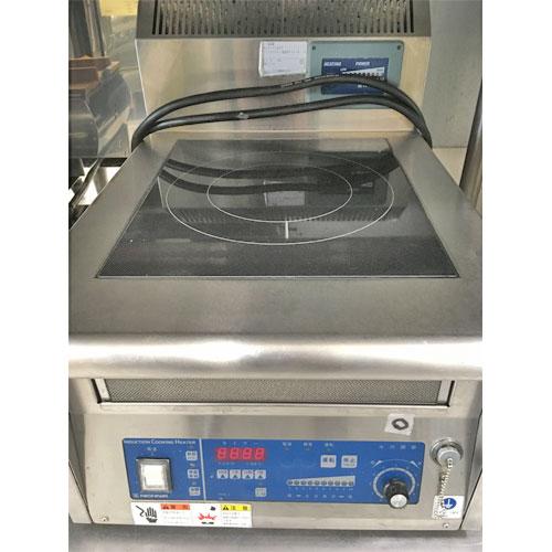 【中古】電磁調理器 ニチワ電機 MIR-3TSP 幅450×奥行600×高さ200 三相200V 【送料別途見積】【業務用】