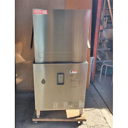 【中古】食器洗浄機 横河電子 E5-G08 幅680×奥行780×高さ1380 三相200V 都市ガス 【送料別途見積】【業務用】