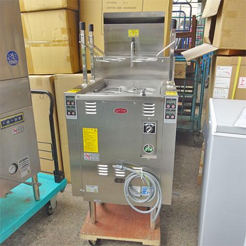 【中古】自動ゆで麺機 日本洗浄機 UM451G 幅550×奥行600×高さ800 都市ガス 【送料別途見積】【業務用】