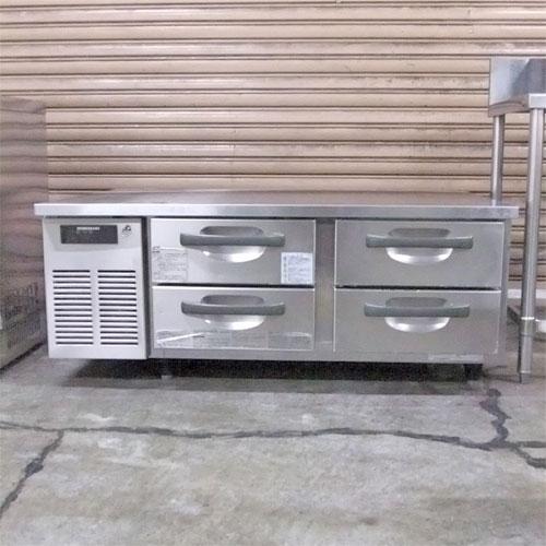 【中古】ドロワーコールドテーブル ホシザキ RTL-120DDC 幅1200×奥行750×高さ505 【送料別途見積】【業務用】【厨房機器】