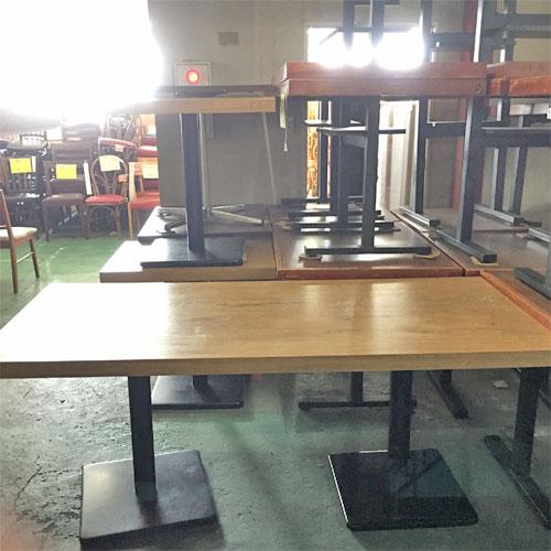【中古】洋風テーブル NA 幅1700×奥行750×高さ700 【送料別途見積】【業務用】