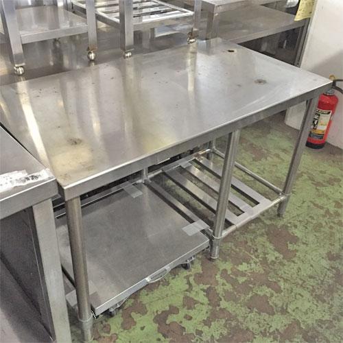 【中古】炊飯台スノコ 幅1100×奥行600×高さ690 【送料無料】【業務用】