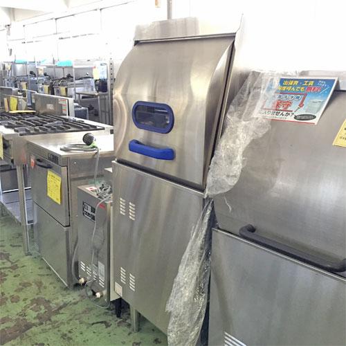 【中古】食器洗浄機 マルゼン MDRR6E 幅600×奥行600×高さ1415 LPG(プロパンガス) 【送料無料】【業務用】
