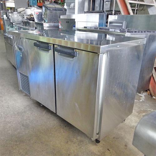 【中古】冷蔵コールドテーブル フジマック FRT-12360J 幅1200×奥行600×高さ800 【送料別途見積】【業務用】