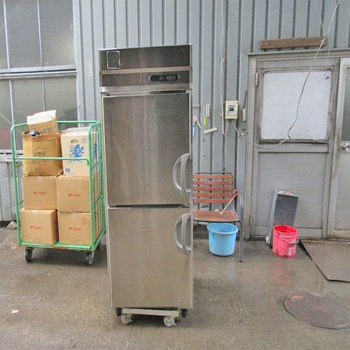 【中古】縦型冷凍庫 フクシマガリレイ(福島工業) ARD-062FMD 幅610×奥行800×高さ1940 三相200V 【送料別途見積】【業務用】