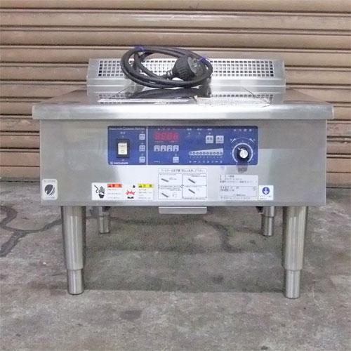 【中古】IH 調理器 ニチワ電機 MIR-3LAD-N 幅600×奥行600×高さ450 三相200V 【送料別途見積】【業務用】