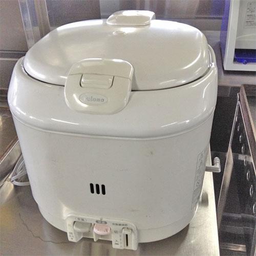 【中古】ガス炊飯ジャー PR-200J-1 幅300×奥行366×高さ296 都市ガス 【送料無料】【業務用】