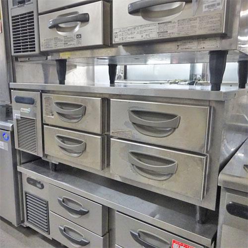 【中古】冷蔵ドロワーコールドテーブル フクシマガリレイ(福島工業) TBW-40RM3 幅1200×奥行750×高さ550 【送料別途見積】【業務用】