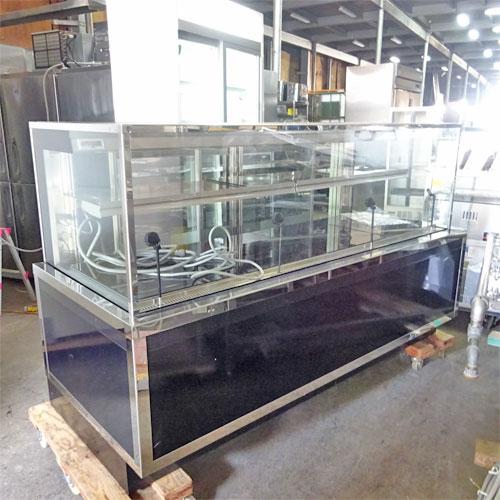 【中古】冷蔵ショーケース ZRC-0613RZ 幅1730×奥行680×高さ1090 【送料別途見積】【業務用】【厨房機器】