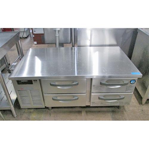 【中古】低ドロワーコールドテーブル ホシザキ FTL-120DDC 幅1200×奥行750×高さ560 【送料無料】【業務用】