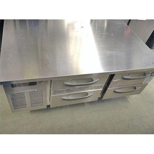 【中古】ドロワーコールドテーブル ホシザキ RTL-1200D 幅1200×奥行750×高さ750 【送料無料】【業務用】【厨房機器】
