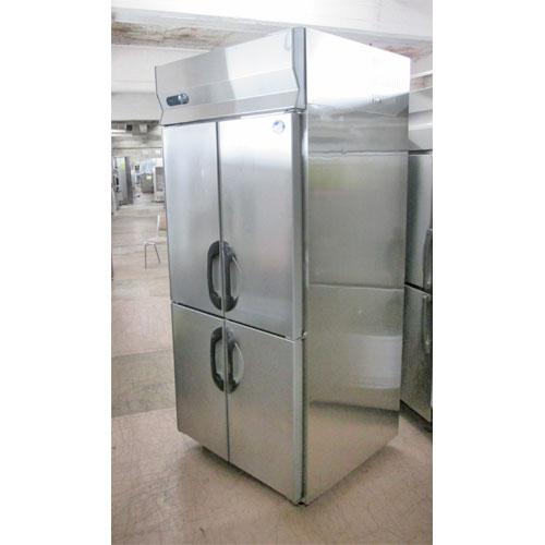 【中古】縦型冷凍庫 サンヨー SRF-F983SA 幅900×奥行800×高さ1900 三相200V 【送料無料】【業務用】
