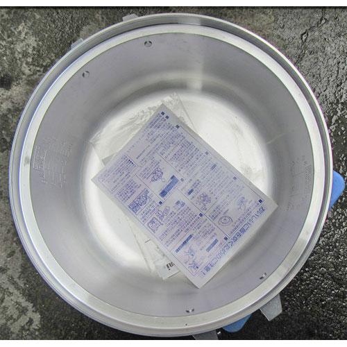 【中古】ガス炊飯器 リンナイ RR-40S1 幅480×奥行535×高さ421 都市ガス 【送料別途見積】【業務用】