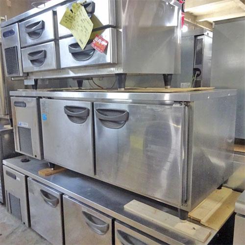 【中古】低冷蔵コールドテーブル 福島工業(フクシマ) TNC-50RM-F 幅1500×奥行600×高さ600 【送料別途見積】【業務用】【厨房機器】