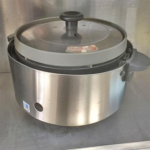【中古】ガス炊飯器 リンナイ RR-S15SF 幅543×奥行506×高さ460 LPG(プロパンガス) 【送料別途見積】【業務用】