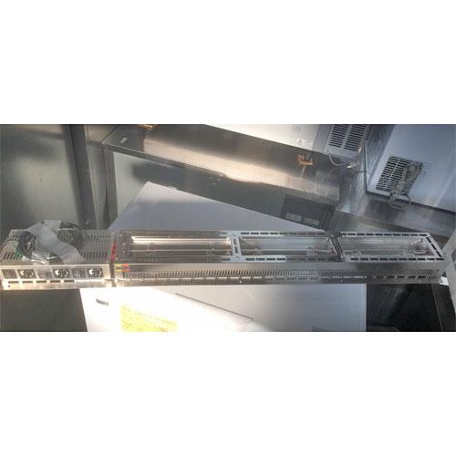 【中古】ヒートランプウォーマー タニコー TLWC-S3 幅1500×奥行200×高さ210 【送料別途見積】【業務用】