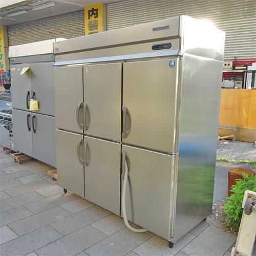 【中古】縦型冷凍冷蔵庫 フクシマガリレイ(福島工業) ARD-182PMD 幅1790×奥行800×高さ1950 三相200V 【送料別途見積】【業務用】