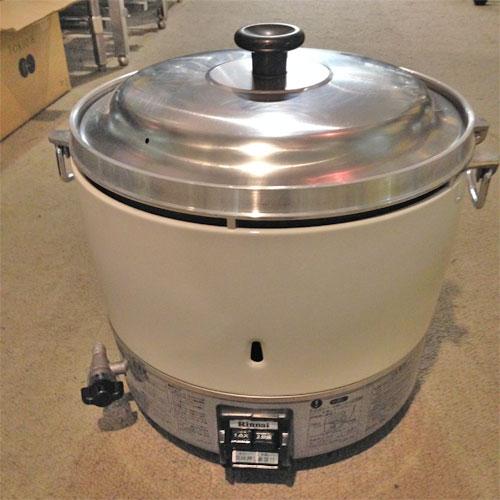 【中古】ガス炊飯器 リンナイ RR-30S1 幅450×奥行420×高さ430 都市ガス 【送料無料】【業務用】【厨房機器】