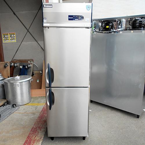 【中古】2ドア冷凍庫 ダイワ 213SS-EC 幅600×奥行800×高さ1900 三相200V 【送料別途見積】【業務用】