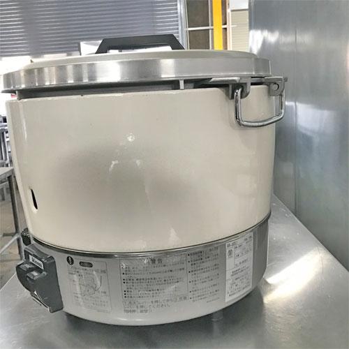【中古】ガス炊飯器 リンナイ PR-30S1 幅450×奥行421×高さ407 都市ガス 【送料無料】【業務用】【厨房機器】