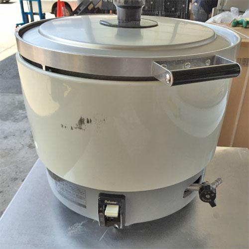 【中古】炊飯器 パロマ PR-6DSS 幅414×奥行513×高さ410 LPG(プロパンガス) 【送料別途見積】【業務用】
