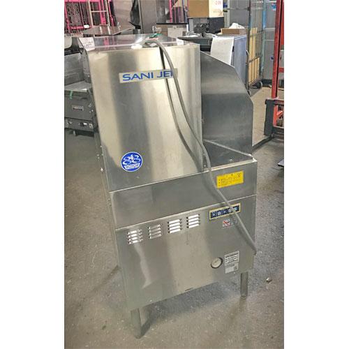 【中古】食器洗浄機 日本洗浄機 SD-64EA3 幅600×奥行600×高さ1280 三相200V 60Hz専用 【送料無料】【業務用】
