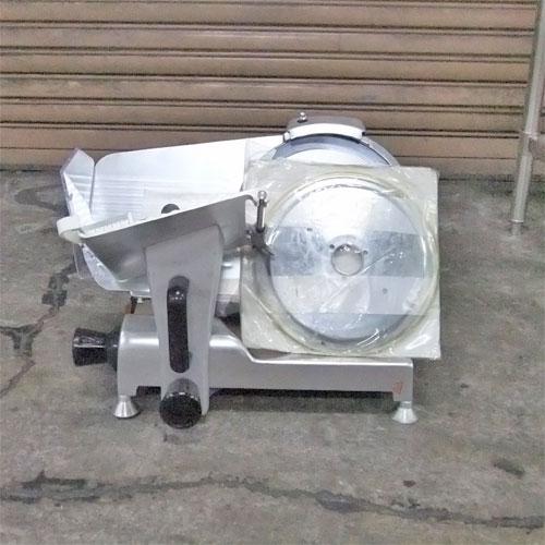 【中古】ミートスライサー レマコム RSL-250 幅480×奥行400×高さ370 【送料別途見積】【業務用】
