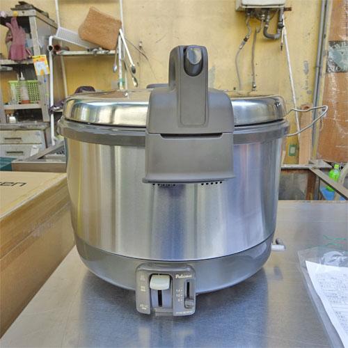 【中古】ガス炊飯器 リンナイ PR-3200S-1 幅400×奥行360×高さ340 都市ガス 【送料別途見積】【業務用】