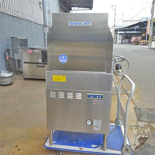 【中古】食器洗浄機(スルー) 日本洗浄機 SD74EA6 幅600×奥行600×高さ1265 三相200V 60Hz専用 【送料別途見積】【業務用】