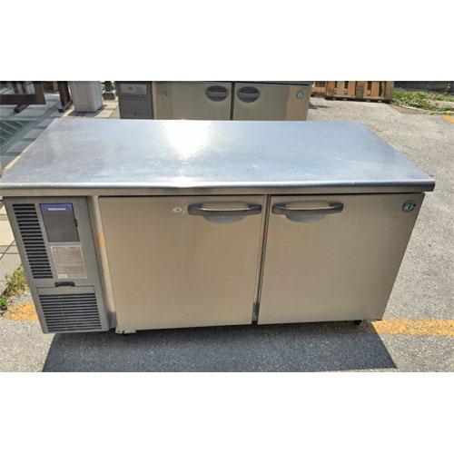 【中古】冷凍冷蔵コールドテーブル ホシザキ RFT-150SDF-TH 幅1500×奥行750×高さ800 【送料別途見積】【業務用】【厨房機器】