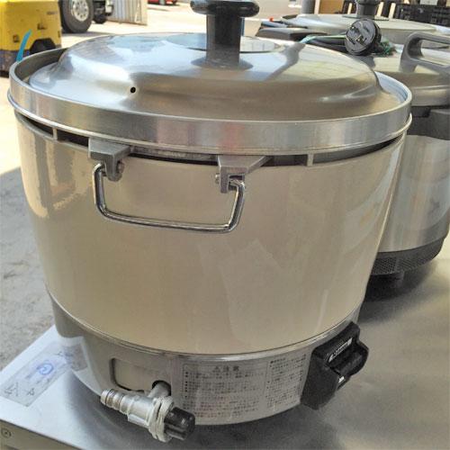 【中古】炊飯器 リンナイ RR-30S1 幅450×奥行421×高さ425 都市ガス 【送料別途見積】【業務用】【厨房機器】