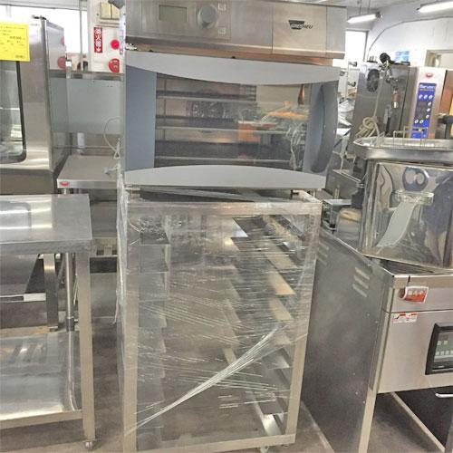 【中古】コンベクションオーブン架台付き WIESHEU Minimat1IS500 幅600×奥行630×高さ1513 三相200V 50Hz専用 【送料無料】【業務用】【厨房機器】
