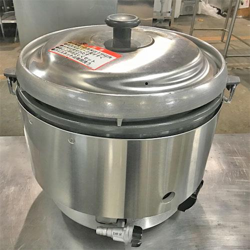 【中古】ガス炊飯器 リンナイ RR-30S2 幅450×奥行480×高さ450 都市ガス 【送料無料】【業務用】