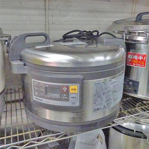 【中古】IH炊飯器 パナソニック(Panasonic) SR-PGB36P 幅500×奥行420×高さ320 【送料別途見積】【業務用】