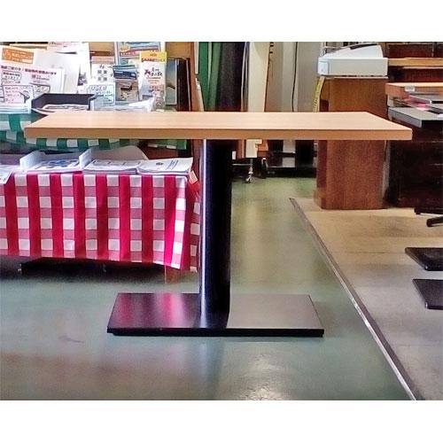 【中古】テーブル 白木 幅1200×奥行750×高さ730 【送料別途見積】【業務用】