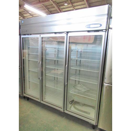 【中古】冷蔵リーチインショーケース ホシザキ RS-180XT-1 幅1800×奥行650×高さ1950 【送料別途見積】【業務用】【厨房機器】