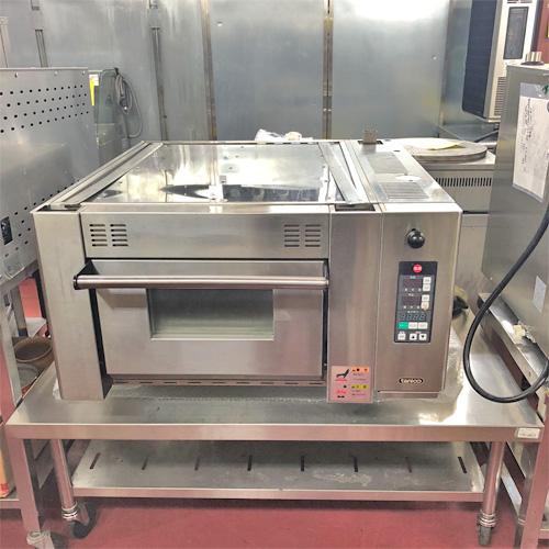 【中古】電気オーブン タニコー TVO1R-S 幅825×奥行885×高さ445 三相200V 【送料無料】【業務用】【厨房機器】