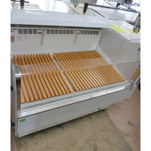 【中古】冷蔵ショーケース サンデン RSR-4M 幅1160×奥行910×高さ860 【送料無料】【業務用】【厨房機器】