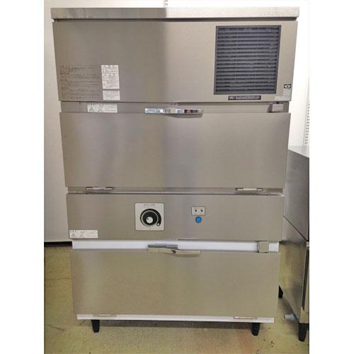【中古】製氷機 スタックオン 大和冷機 DRI-150LM2-BGH 幅1084×奥行711×高さ1727 三相200V 【送料無料】【業務用】
